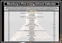 Newbury's First Living Advent Calendar